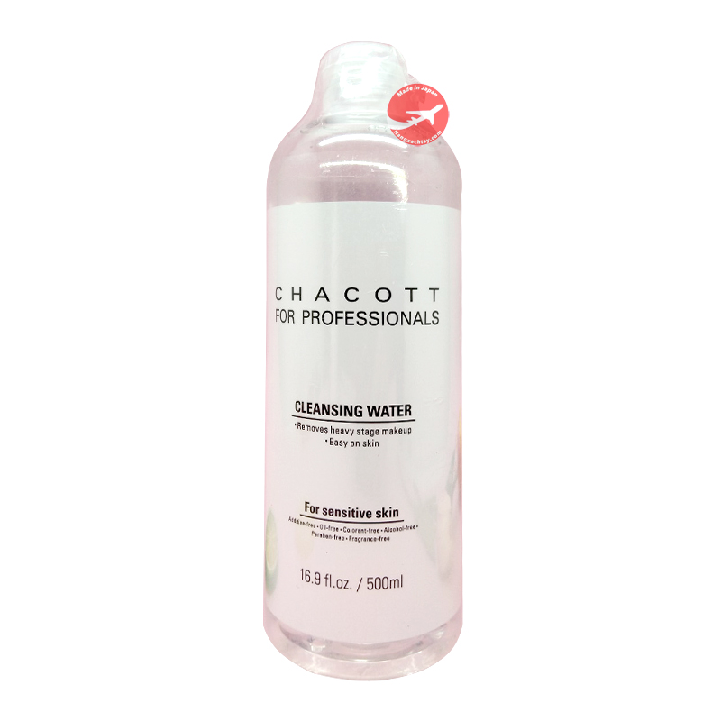 Nước tẩy trang Chacott for Professionals 500ml