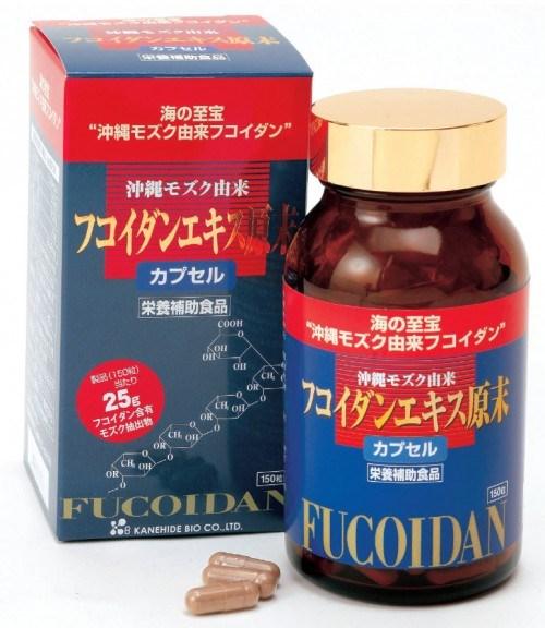 Viên uống trị ung thư Okinawa Fucoidan Kanehide Bio 150 viên - Nhật Bản