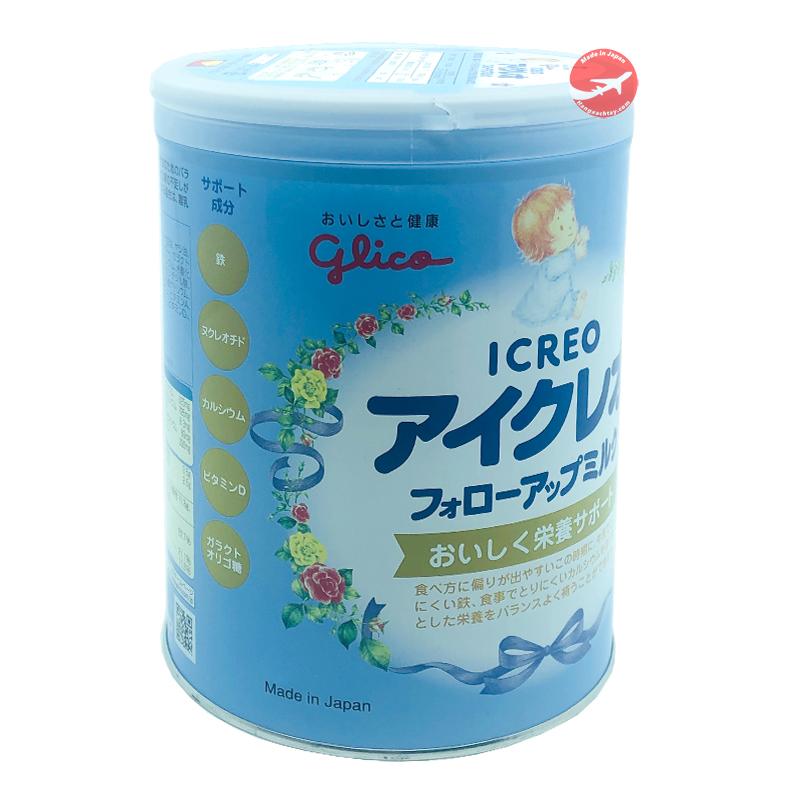 Sữa Glico số 9 cho trẻ từ 1-3 tuổi