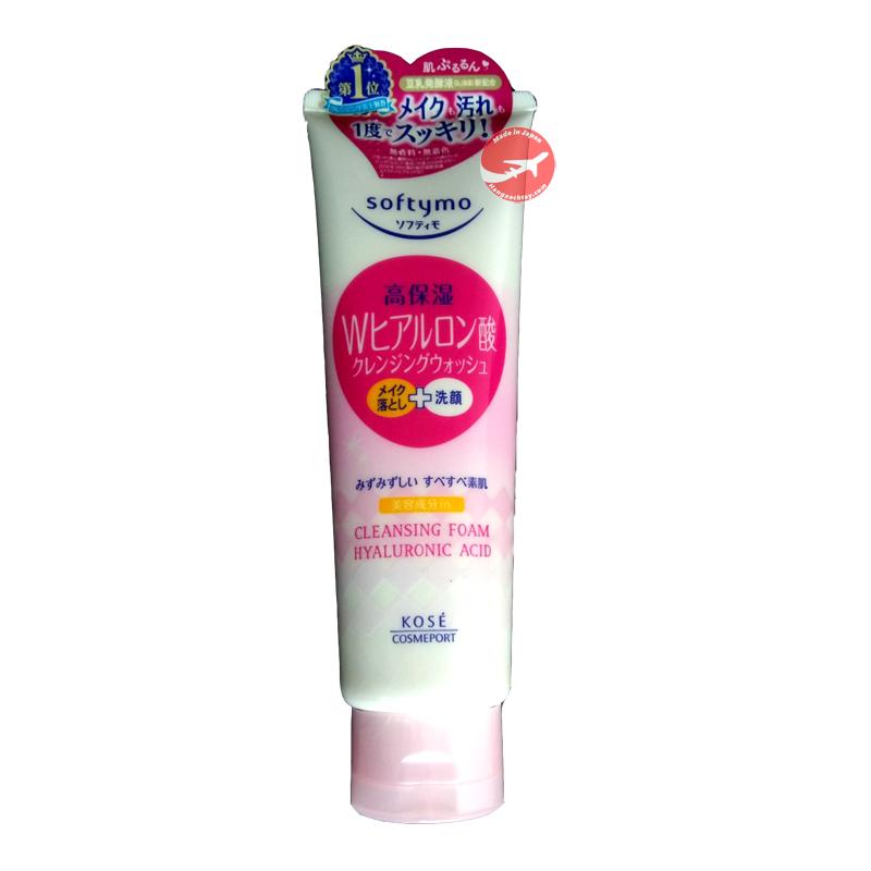 Sữa rửa mặt Kose Softymo Nhật Bản 190g