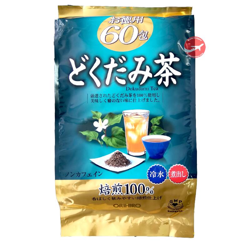 Trà thải độc diếp cá Orihiro Nhật Bản 60 gói