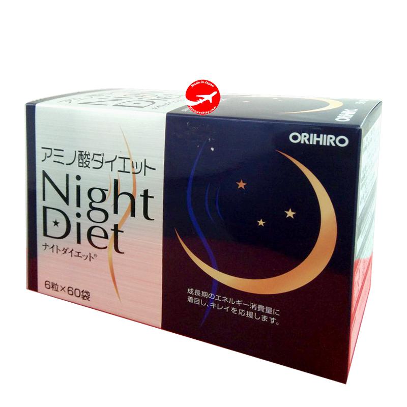 Viên uống giảm cân Night Diet Orihiro