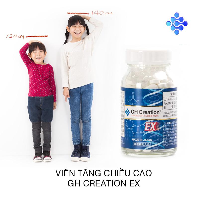 Viên uống tăng chiều cao DH Creation EX