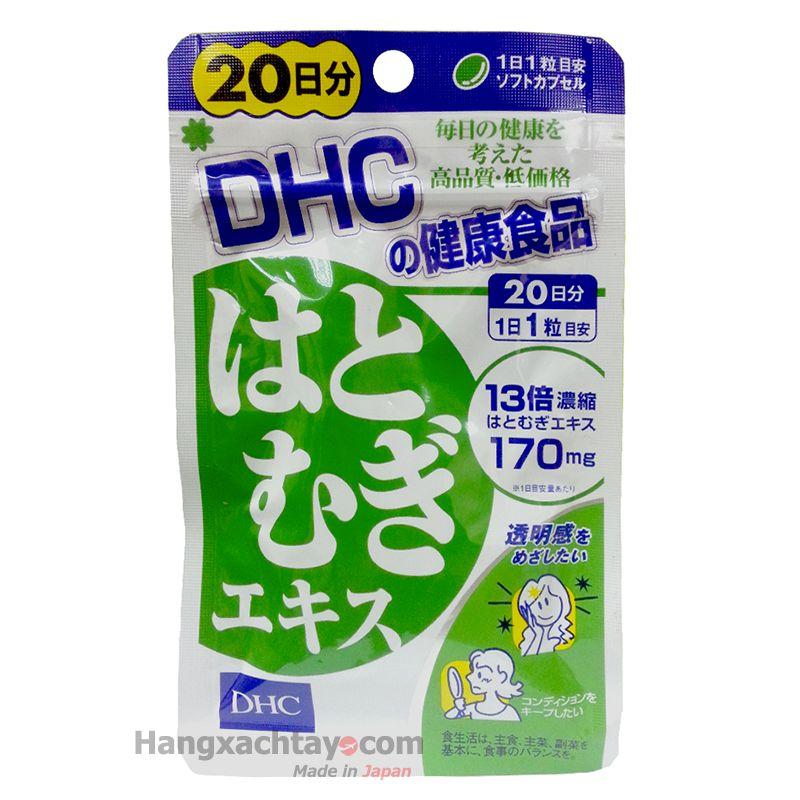 Viên uống DHC trắng da 20 ngày 20 viên