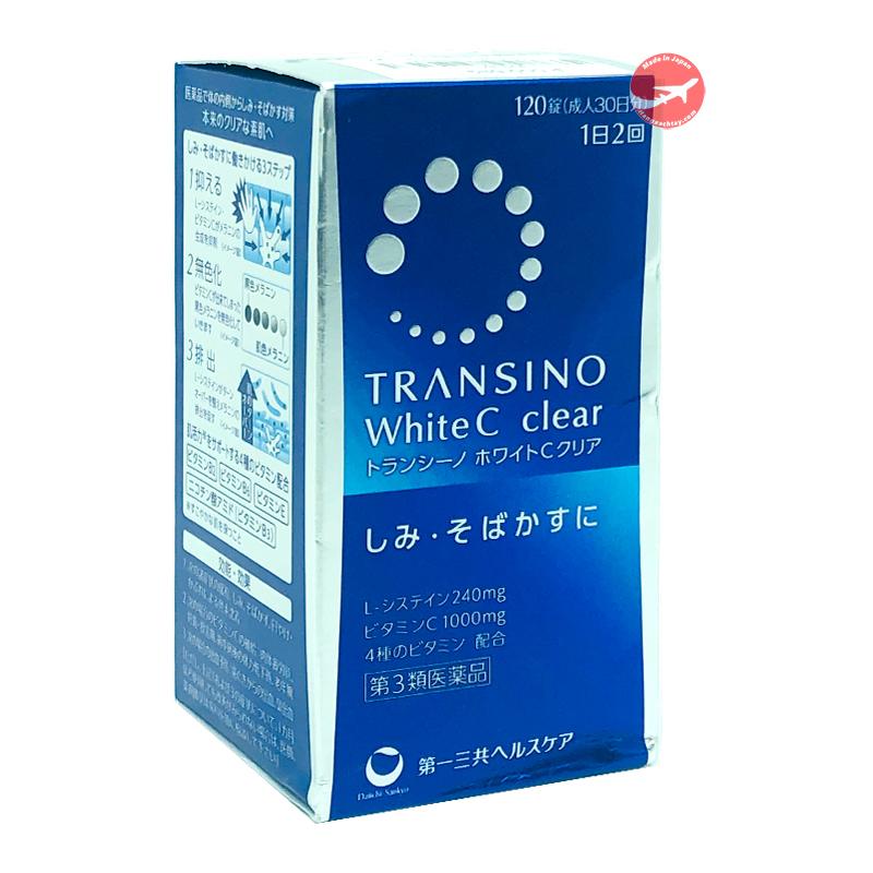 Viên uống trắng da Transino White C 120 viên