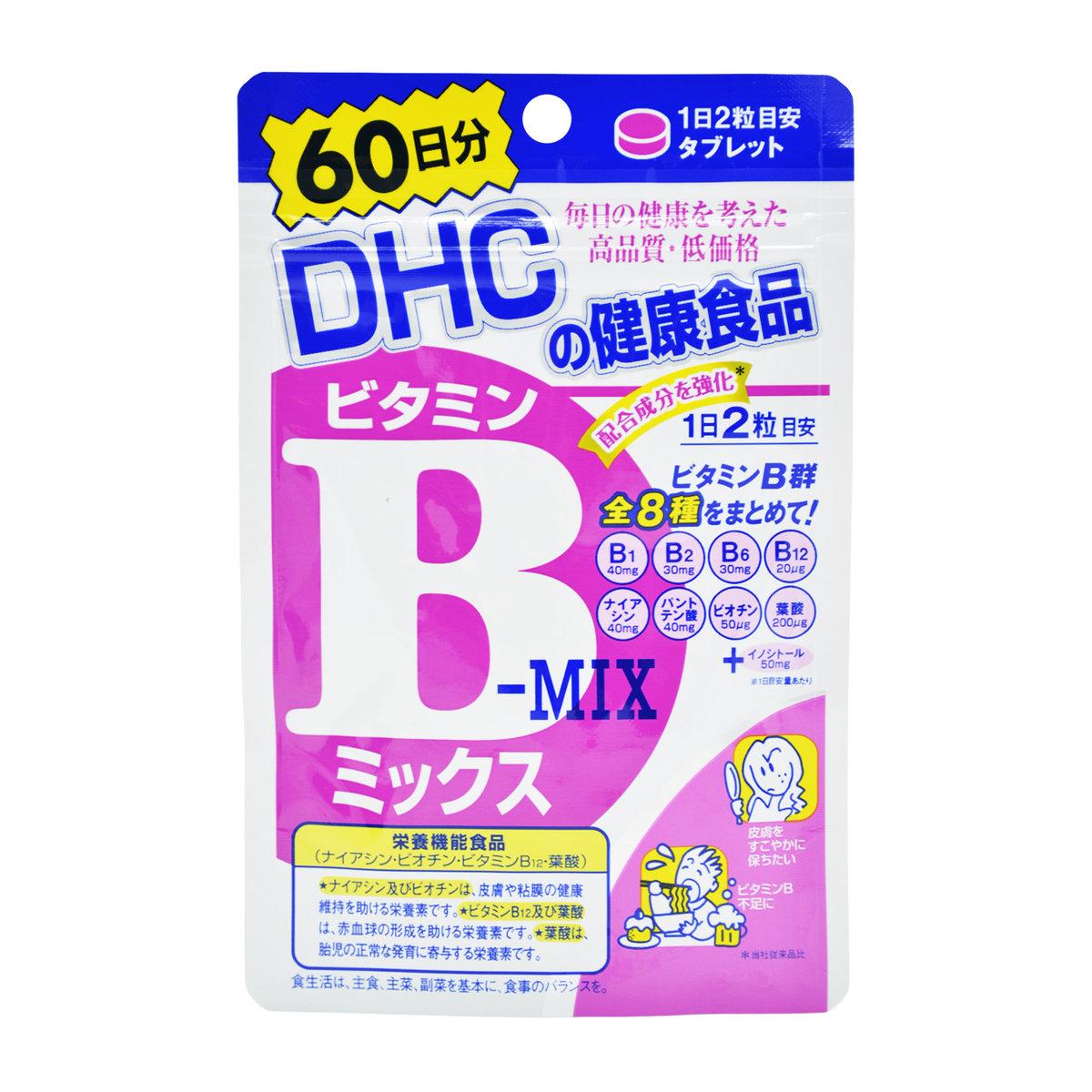 Viên uống bổ sung vitamin B Mix của DHC 60 ngày 120 viên