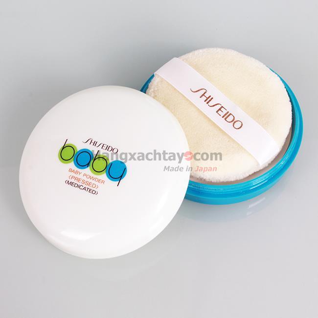 Phấn Rôm - Phấn Phủ Shiseido Baby Powder Pressed