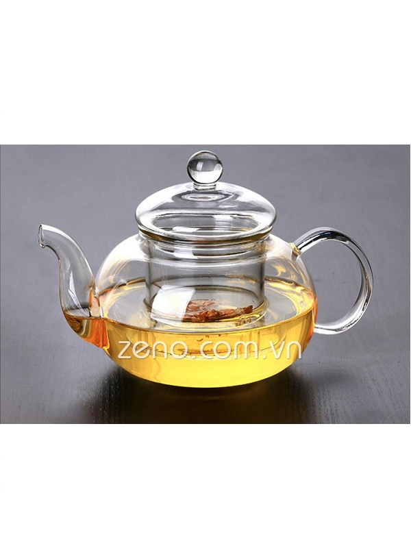 Ấm trà thủy tinh ZENO ATT09 600ml