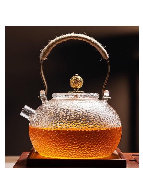 Ấm trà thủy tinh ZENO ATT37 - 700ml