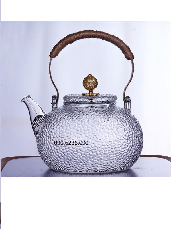 Ấm trà thủy tinh ZENO ATT37 700ml