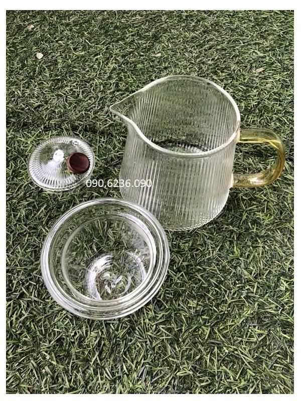 Ấm trà thủy tinh Zeno ATT05 450ml