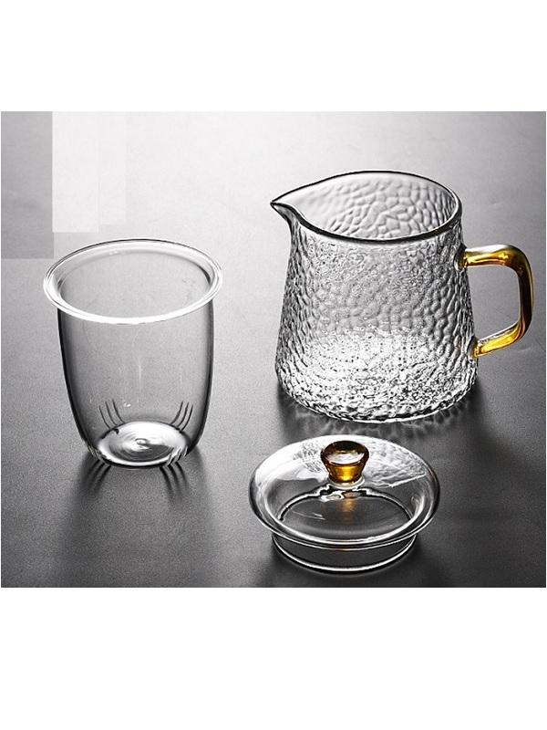 Ấm trà thủy tinh Zeno ATT07 450ml