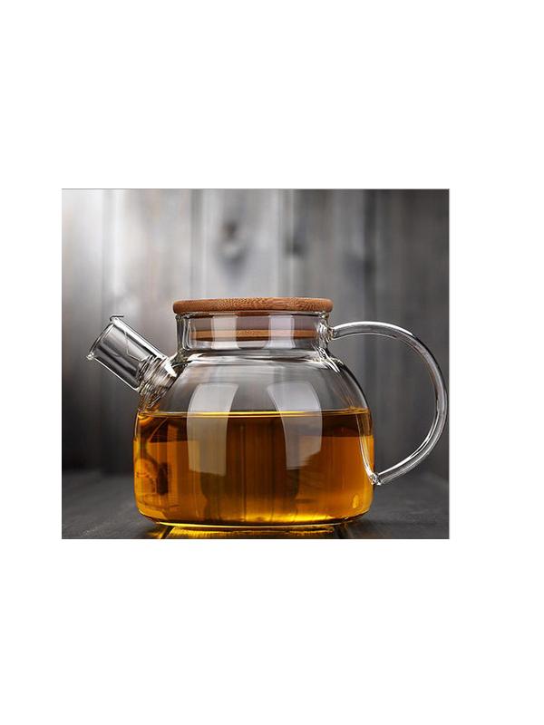 Ấm trà thủy tinh Zeno ATT24 - 1000ml
