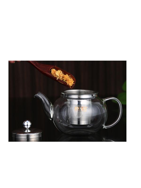 Ấm trà thủy tinh ZENO ATT22 (600ml)
