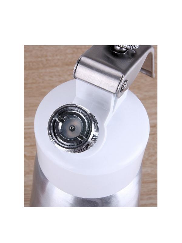 bịnh xịt kem tươi Zeno 0.5L (bạc)