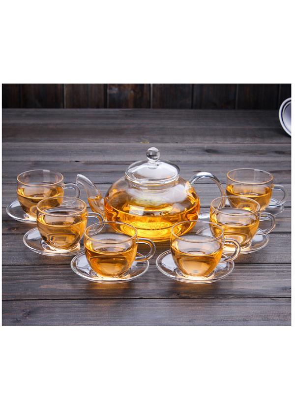 Bộ ấm trà thủy tinh Zeno SET59
