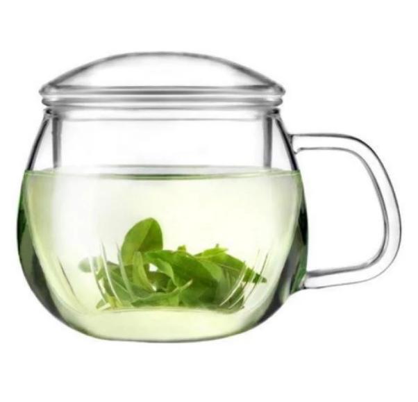 Cốc pha trà thủy tinh ZENO CLL03 - 450ml