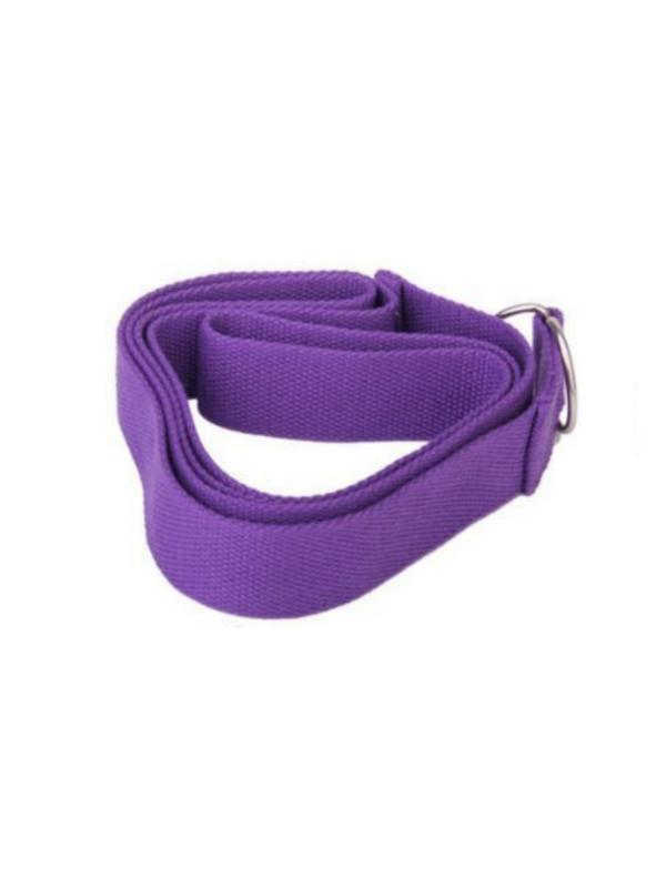 dây đai hỗ trợ tập yoga (tím)