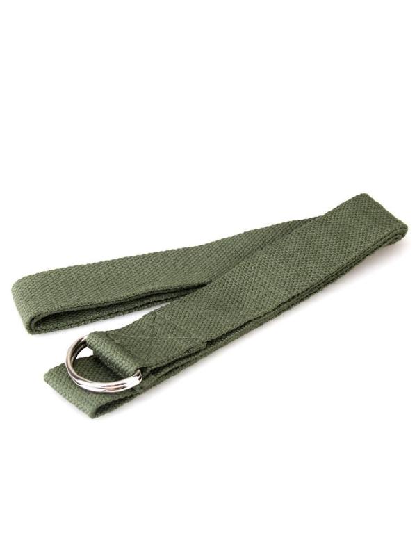 dây đai hỗ trợ tập yoga (xanh lá)
