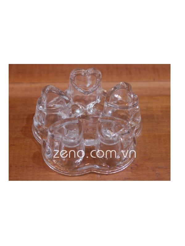 Đế nến trái tim Zeno DC23