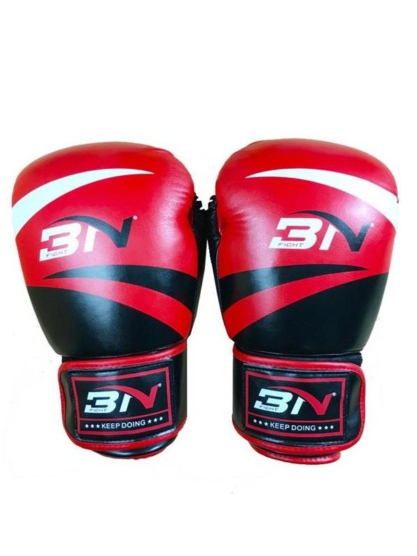 Găng tay đấm boxing cao cấp BN 12oz (Đỏ)