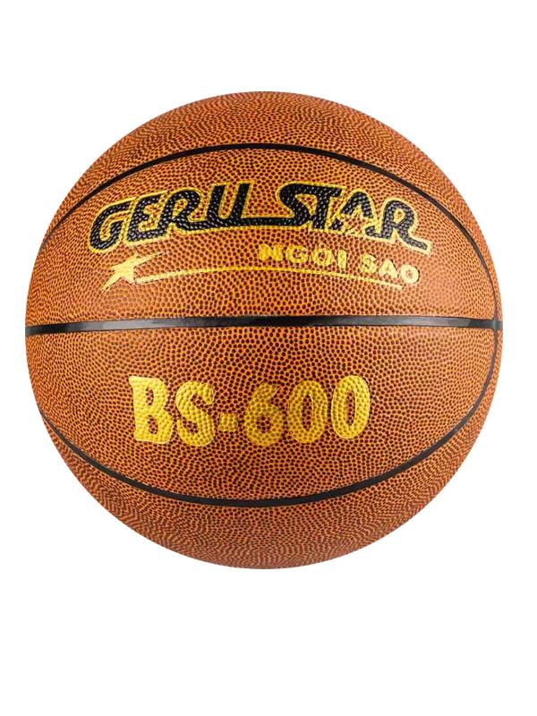 QUẢ BÓNG RỔ CAO SU GERUSTAR BS-600 (SỐ 6)