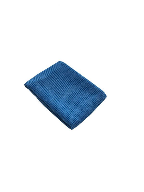 Khăn trải thảm tập yoga silicon (xanh đậm)