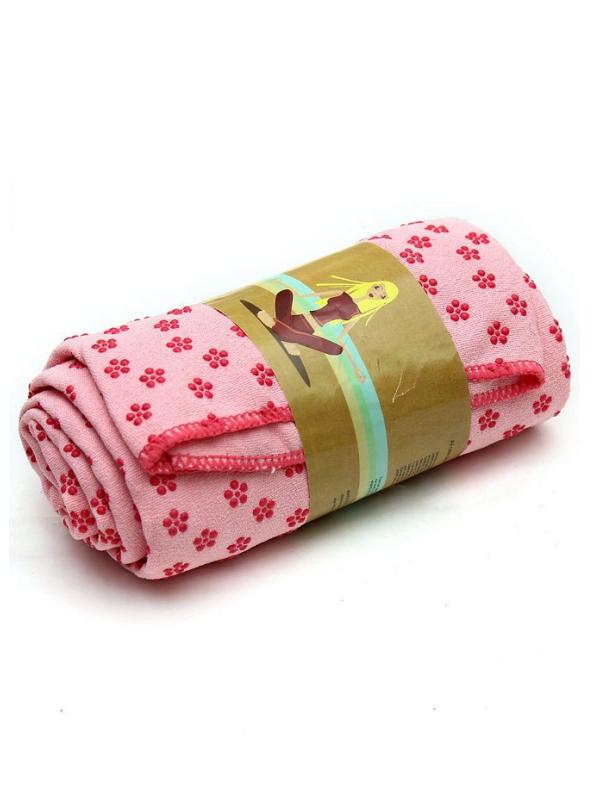 khăn trải thảm yoga (hồng)