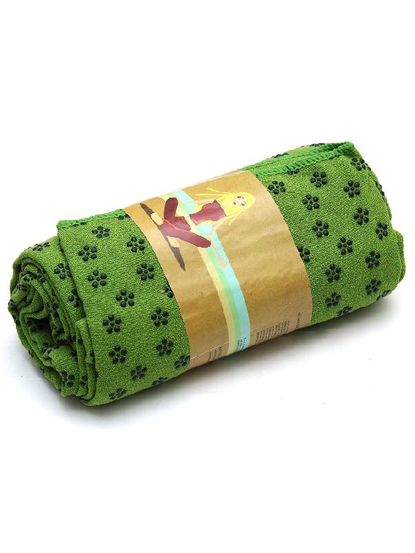 khăn trải thảm yoga (xanh lá)