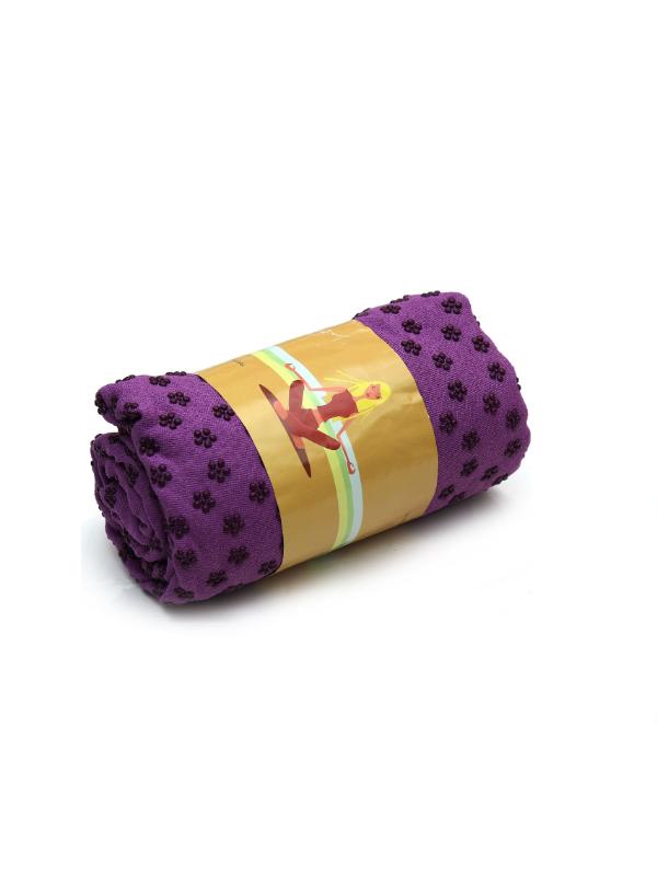 khăn trải thảm yoga (tím)