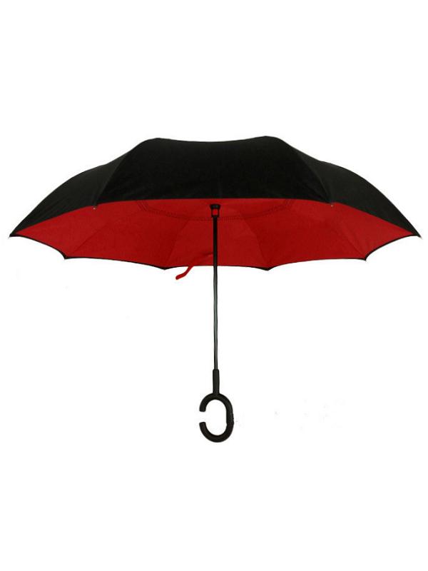 ô dù mở ngược chuyên dụng (đỏ)