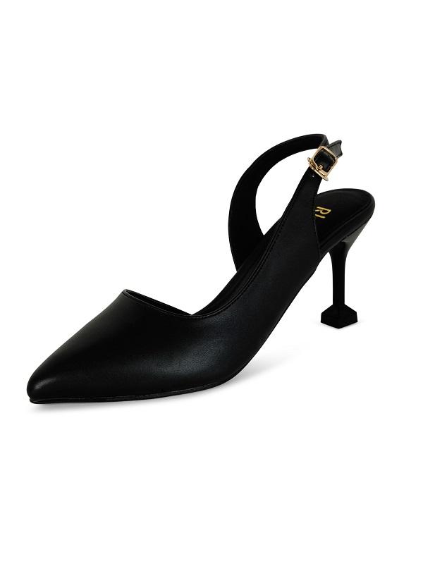 Giày nữ 7cm Rhea RH1004BL - Đen