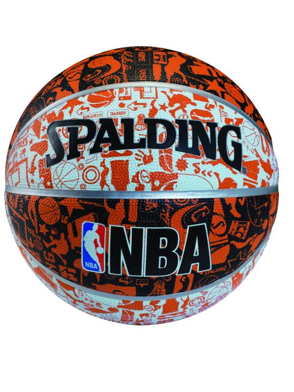 QUẢ BÓNG RỔ NBA GRAFFITI 7 (73-722Z)