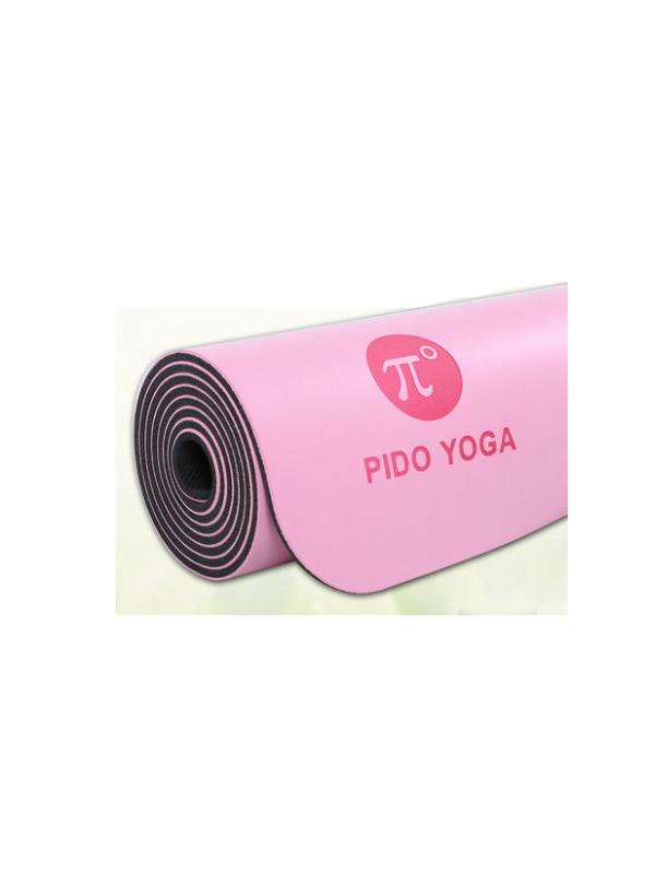 Thảm tập yoga định tuyến cao cấp Pido (hồng)