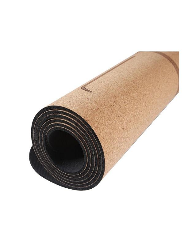 Thảm tập yoga định tuyến PIDO vân gỗ sồi