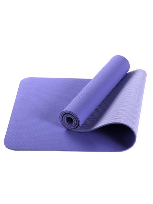 Thảm yoga 2 lớp TPE (tím hoa cà)