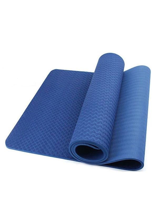 Thảm yoga TPE 8mm 1 lớp (xanh đậm)