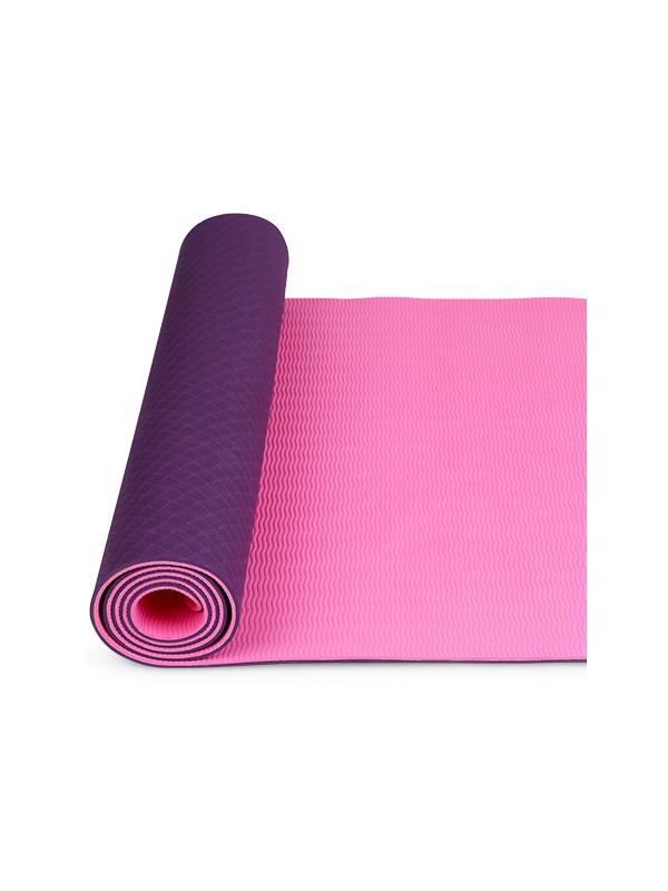 Thảm yoga 2 lớp TPE (tím)