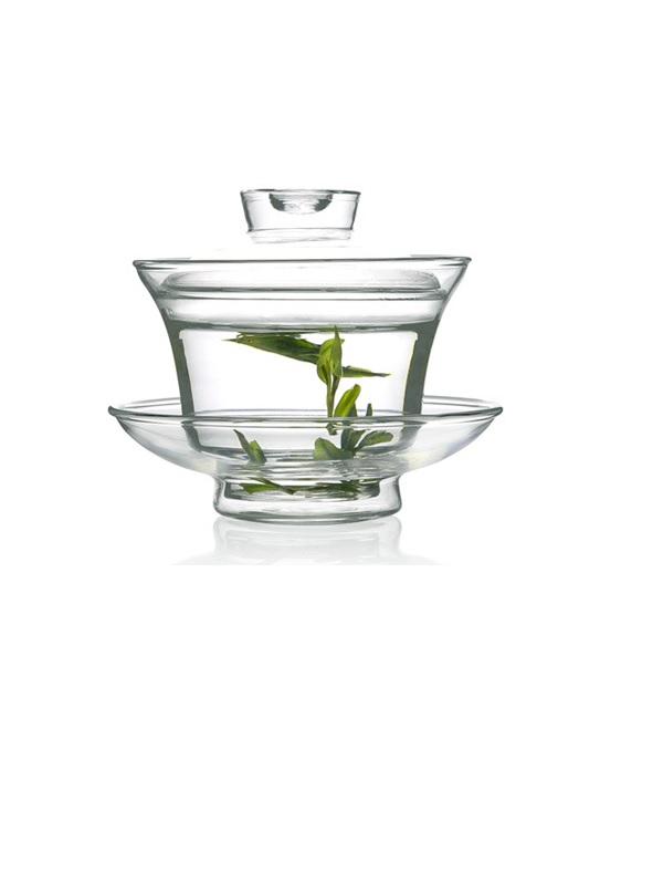 Tách trà thủy tinh ZENO TT01 (kèm đĩa)