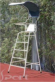 Ghế trọng tài Tennis cao 1.5m, ống kẽm 302351
