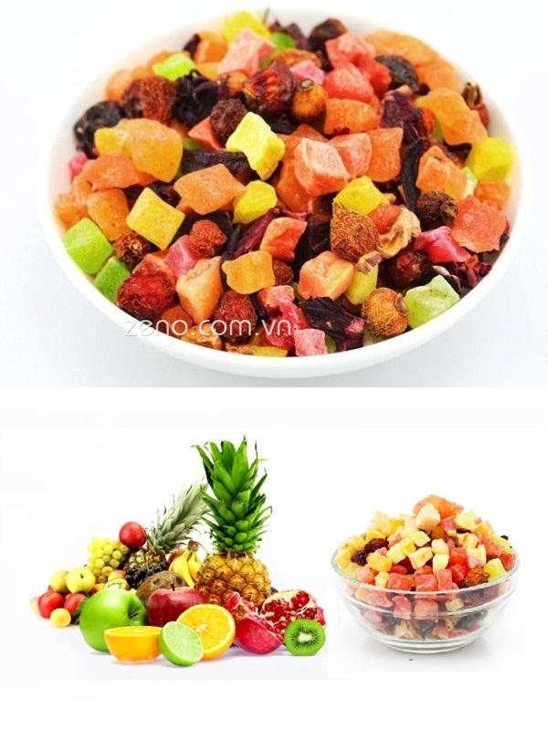 Trà hoa quả khô 100G TH8