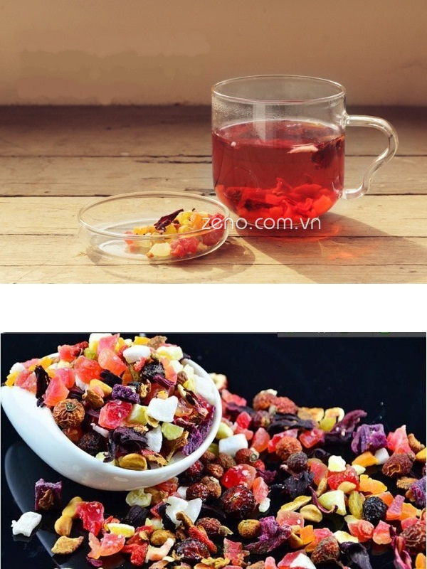 Trà hoa quả khô (lọ 200gr)