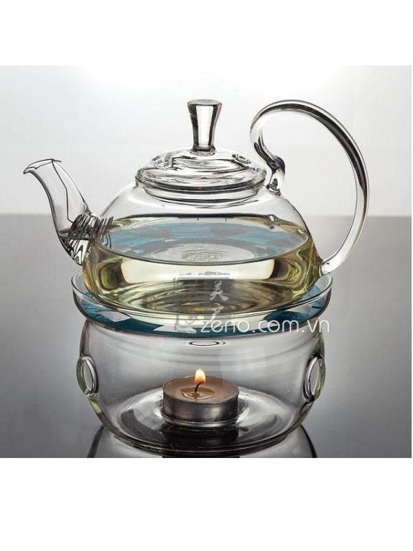 Ấm trà thủy tinh ZENO ATT15 600ml