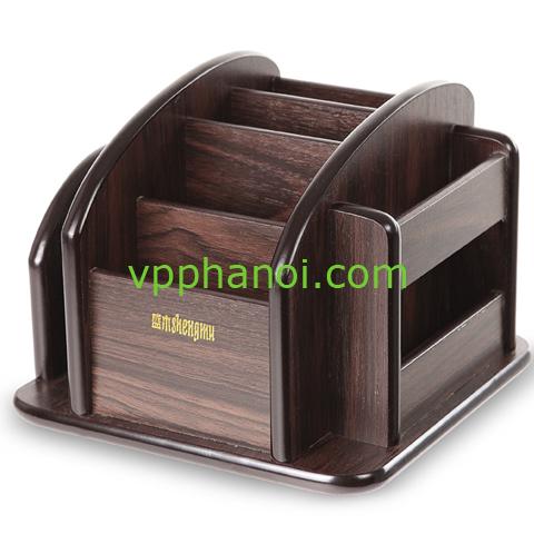 Khay cắm bút gỗ Deli 8011