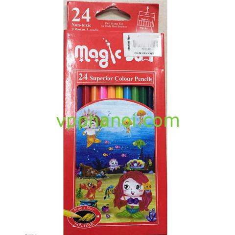 Bút chì 24 màu MAZIC