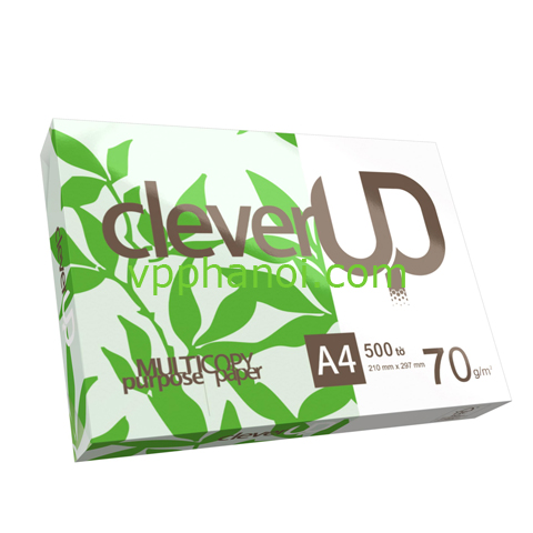 GIẤY CLEVER UP - A4/70 (500 TỜ/REAM)