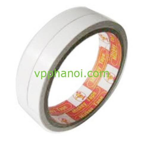 Băng dính giấy trắng 1cm