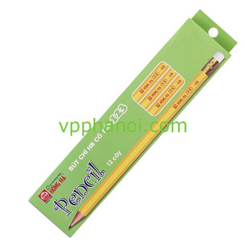 Bút chì gọt HH 123 - HB (có tẩy)