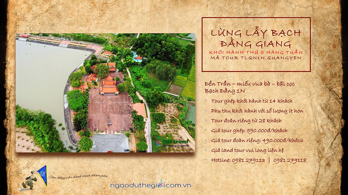 du lịch đền Trần Hưng Đạo - miếu Vua Bà