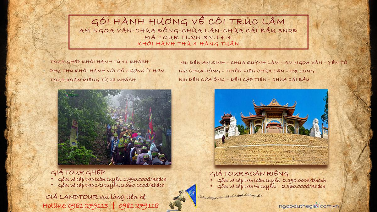 du lịch yên tử - cái bầu Quảng Ninh